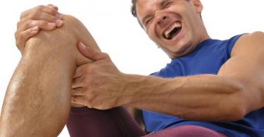 Image showing Leg cramps