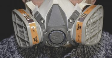 Respirator Masks on Job Sites