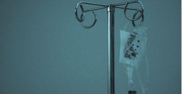 Hanging IV drip