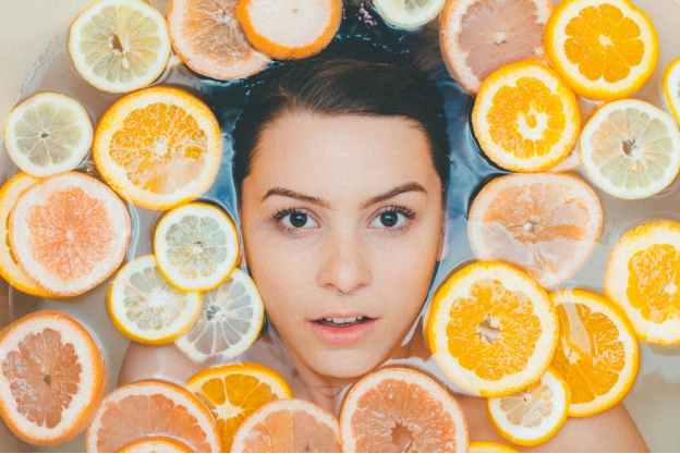 limonene terpene found in citrus fruits has anti-oxidant benefits