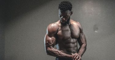 a man credits injectable HGH for his muscular body