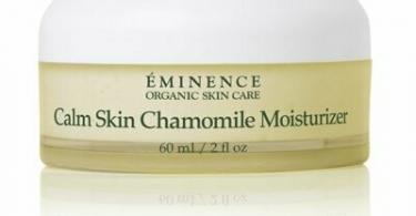 A jar of Eminence Calm Skin Chamomile Moisturizer
