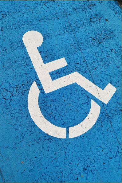 Symbol representing people with disability